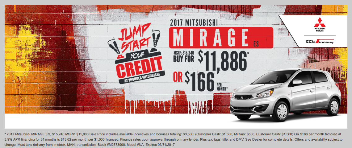 Younger Mitsubishi March Specials | Uncategorized